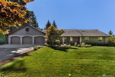Snohomish Single Family Home For Sale: 18424 126th St SE