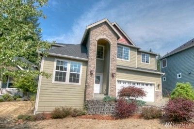 Tumwater Single Family Home For Sale: 1716 Viewpoint Ct SW