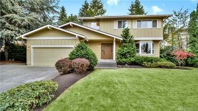 Bellevue Single Family Home For Sale: 12904 SE 69th Place