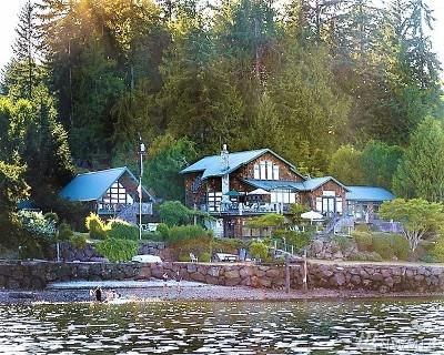 Port Orchard Single Family Home For Sale: 5989 Watauga Beach Dr E