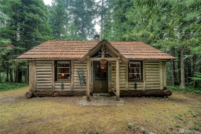 Greenwater Single Family Home For Sale: 8 Dalles Usfs