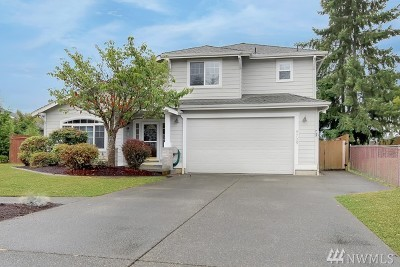 Puyallup Single Family Home For Sale: 8706 133rd St Ct E