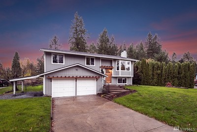 Spanaway Single Family Home For Sale: 1714 161st St S