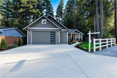 Bothell Single Family Home For Sale: 4102 Jewell Rd