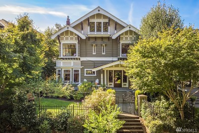 Seattle Single Family Home For Sale: 737 16th Ave E