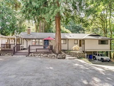 Kenmore Single Family Home For Sale: 6109 NE 187th St