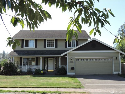 Puyallup Single Family Home For Sale: 15524 88th St E