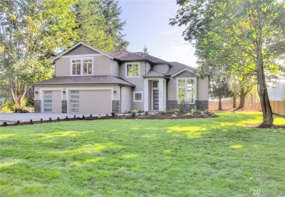 Snohomish Single Family Home For Sale: 20801 86th Ave SE