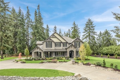Sammamish Single Family Home For Sale: 21211 SE 11th St