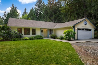 Gig Harbor Single Family Home For Sale: 14820 Peacock Hill Ave NW