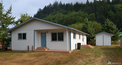 Clallam Bay Single Family Home For Sale: 41 Salmon St