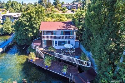 King County Single Family Home For Sale: 3901 Lake Washington Blvd N