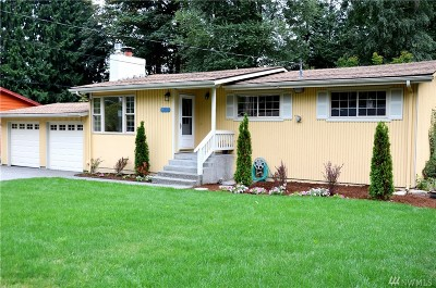 Bothell Single Family Home For Sale: 9303 NE 184th Place
