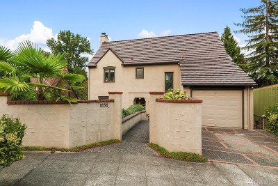 King County Single Family Home For Sale: 1656 Interlaken Place E