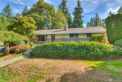 Kenmore Single Family Home For Sale: 15514 79th Ave NE