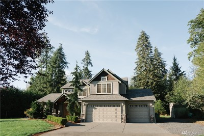 Snohomish Single Family Home For Sale: 15419 241st St SE