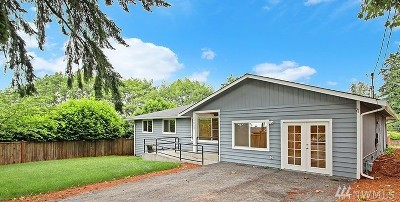 Kenmore Single Family Home For Sale: 15922 84th Ave NE