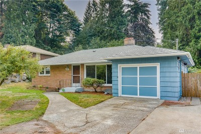 Shoreline Single Family Home For Sale: 1237 NE 169 St