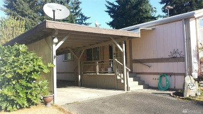 Spanaway WA Mobile Home For Sale: $35,000
