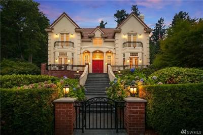 Mercer Island Single Family Home For Sale: 5632 E Mercer Wy
