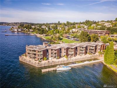 Kirkland Condo/Townhouse For Sale: 5535 Lake Washington Blvd NE #106