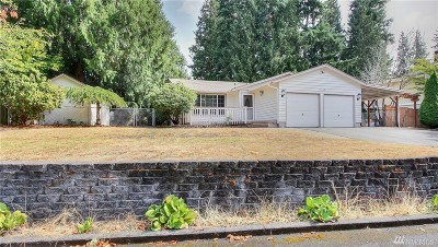 Puyallup WA Single Family Home Contingent: $240,000