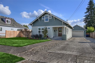 Puyallup Single Family Home For Sale: 1012 W Main