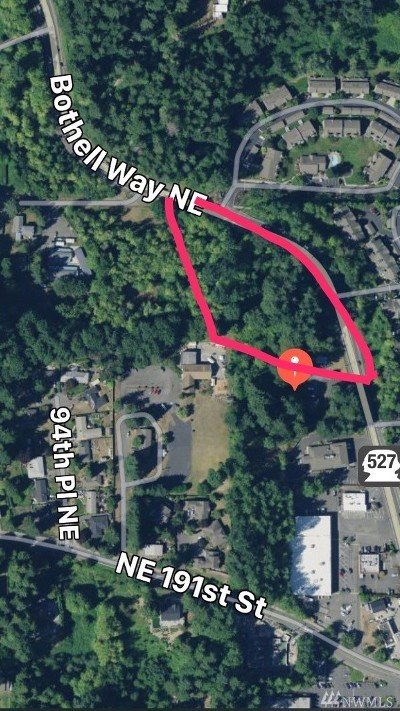 Bothell Residential Lots & Land For Sale: 19300 Bothell Wy NE