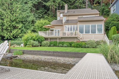 Redmond Single Family Home For Sale: 2002 W Lake Sammamish Pkwy NE