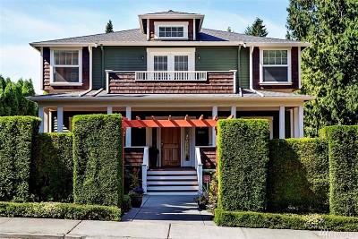 Redmond Single Family Home For Sale: 9807 171st Ave NE