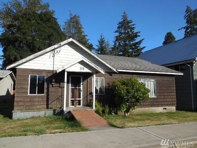 Napavine Single Family Home For Sale: 218 2nd Ave NE