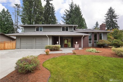 Redmond Single Family Home For Sale: 18517 NE 20th Place