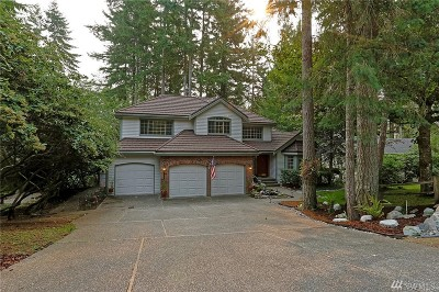 Port Orchard Single Family Home For Sale: 5925 Marymac Dr SW