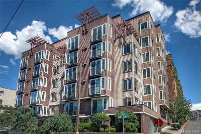 King County Condo/Townhouse For Sale: 124 Bellevue Ave E #502