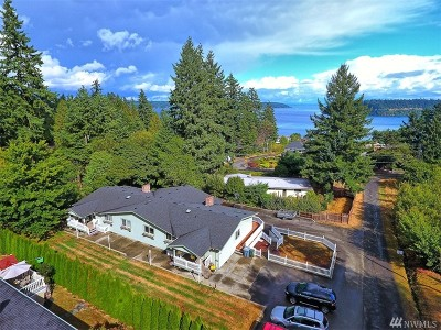 Pierce County Multi Family Home For Sale: 6218 Reid Dr NW