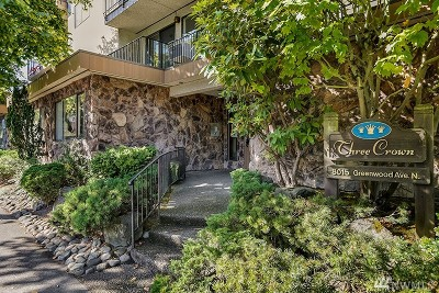Condo/Townhouse Sold: 8015 Greenwood Ave N #205