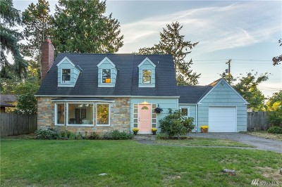 Tacoma WA Single Family Home For Sale: $285,000