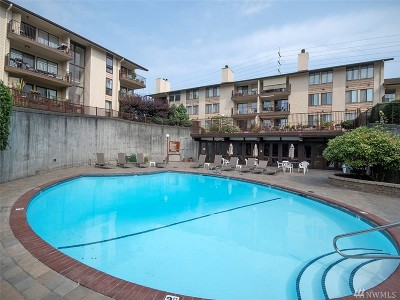 Seattle Condo/Townhouse For Sale: 13201 Linden Ave N #A204