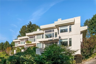 Mercer Island Condo/Townhouse For Sale: 3316 81st Place SE