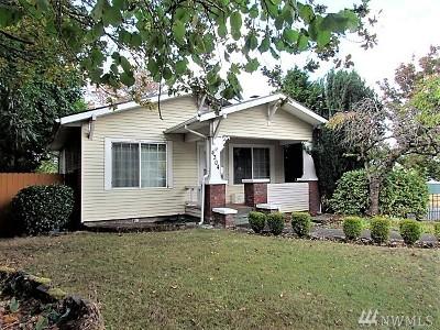 Tacoma Single Family Home For Sale: 4304 A St