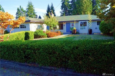 Lynnwood Single Family Home For Sale: 6300 180th St SW