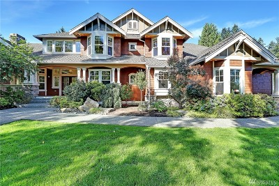 Woodinville Single Family Home For Sale: 19337 160th Ave NE
