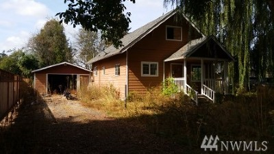 Centralia Single Family Home For Sale: 1111 Woodland Ave