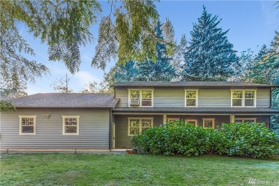 Lake Stevens Single Family Home For Sale: 12211 60th St NE