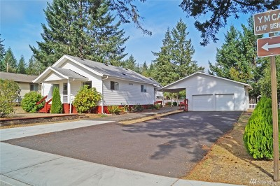 Shelton WA Single Family Home Sold: $168,000