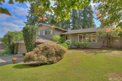 Bothell Single Family Home For Sale: 1210 204th Place SE