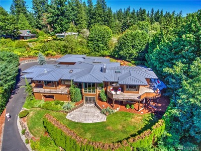 Bellevue WA Single Family Home For Sale: $4,588,000