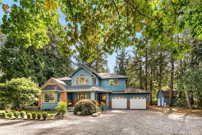 North Bend Single Family Home For Sale: 44709 SE Mount Si Rd