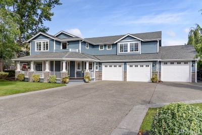 Puyallup Single Family Home For Sale: 1213 12th Ave SW