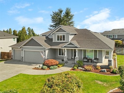 Puyallup Single Family Home For Sale: 17009 135th Av Ct E